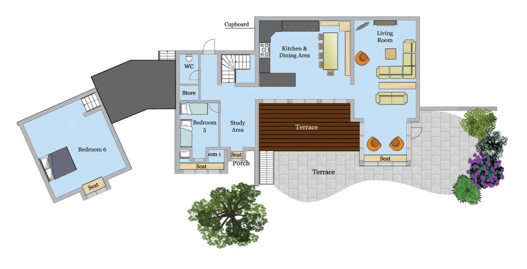 Tomhara First Floor plan